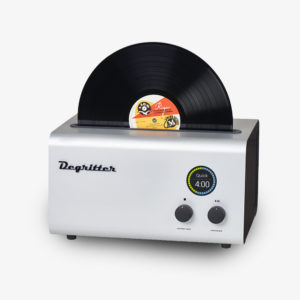 Degritter Record Cleaning Machine Silver